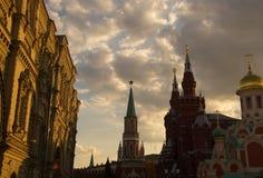 美丽的莫斯科 库存照片