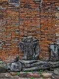 美丽的菩萨古庙 免版税库存照片
