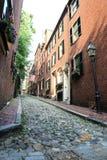 美丽的葡萄酒街道 库存图片