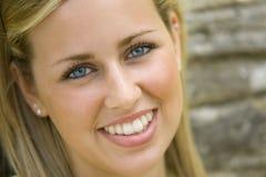 美丽的蓝眼睛 免版税库存照片