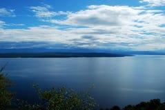 美丽的蓝色海岛 库存图片