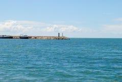 美丽的蓝色海运 免版税库存图片