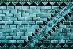 美丽的蓝色铺磁砖-哀痛天主教-费城,宾夕法尼亚的被抛弃的母亲 免版税库存照片