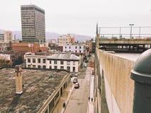 美丽的街市阿什维尔 库存照片