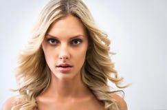 美丽的表面妇女年轻人 图库摄影