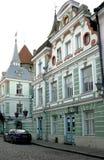 美丽的被恢复的房子19个世纪 库存图片