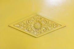 美丽的装饰品在日惹苏丹国宫殿 免版税图库摄影