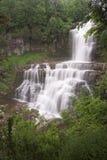 美丽的豪华的瀑布 库存照片