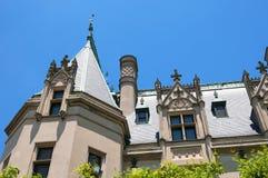 美丽的豪宅在阿什维尔北卡罗来纳美国 免版税图库摄影