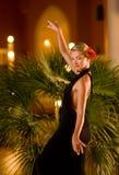 美丽的跳舞妇女年轻人 库存照片