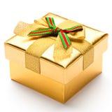 美丽的配件箱礼品 免版税库存图片