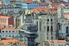 美丽的里斯本 资本和葡萄牙大城市 免版税图库摄影