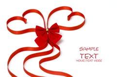 美丽的重点节假日红色华伦泰 免版税库存图片