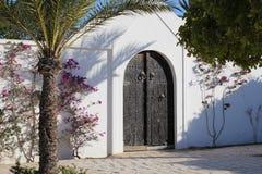 美丽的重金属的门 大双门 图库摄影