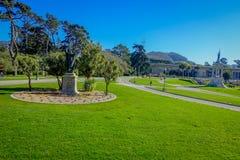 美丽的金门公园在旧金山,五多数被参观的城市公园在美国 免版税库存图片