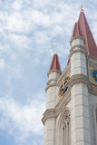 美丽的钟塔 免版税库存照片