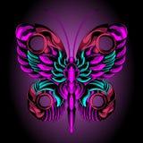 美丽的铁蝴蝶 库存例证