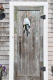 美丽的门在口岸附近的波兹毛斯NH 免版税库存图片