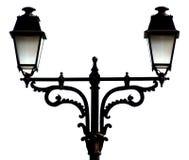 美丽的闪亮指示街道 免版税库存照片