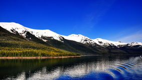 美丽的阿拉斯加 免版税库存照片
