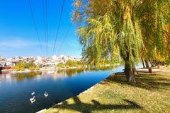 美丽的阿瓦诺斯市在土耳其 免版税库存图片