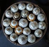 美丽的陶瓷杯子 免版税库存照片