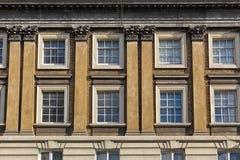 美丽的露台的桑给巴尔石头城议院在伦敦 库存图片
