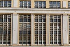 美丽的露台的桑给巴尔石头城议院在伦敦 库存照片