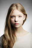 美丽的青少年的女孩画象 库存图片