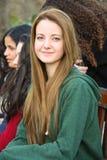 美丽的青少年的女孩画象  库存照片