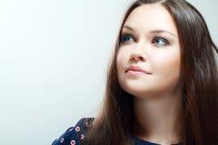 美丽的青少年的女孩 免版税库存图片