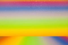 美丽的颜色下落水五颜六色的背景 库存例证