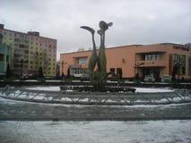 美丽的风景喷泉 库存照片