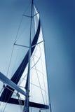 美丽的风船 免版税库存照片
