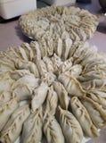美丽的饺子 免版税库存照片