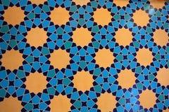 美丽的马赛克墙壁 免版税库存照片