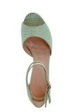 美丽的高跟的凉鞋 免版税库存图片