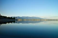 美丽的水坝在Liptov 库存照片