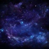 美丽的满天星斗的天空 库存照片