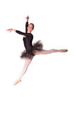 美丽的年轻女性古典跳芭蕾舞者   库存图片