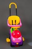 美丽的婴孩现代摇篮车  免版税库存图片