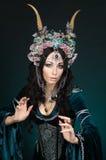 美丽的幻想矮子妇女 免版税图库摄影