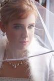 美丽的年轻新娘 免版税库存图片
