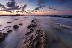 美丽的黎明天空 库存图片