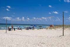 美丽的黑海海滩,沙布拉,保加利亚 图库摄影