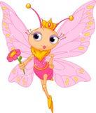 美丽的蝴蝶公主 库存图片
