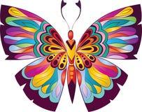 美丽的蝴蝶 向量例证