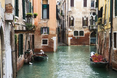 大运河在威尼斯,意大利 免版税库存图片