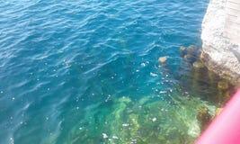美丽的水 免版税图库摄影