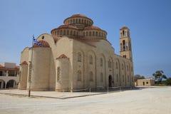美丽的Agioi Anargyroi教会帕福斯 塞浦路斯 免版税库存照片